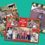 Season's Greetings with Custom Christmas Letterhead and Postcards