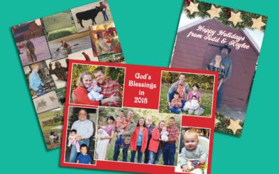 Send Season's Greetings with Custom Christmas Letterhead and Postcards